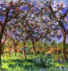 4 x Paper Napkins Monet Spring in Giverny