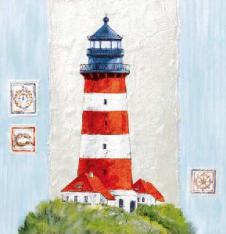 4 x Paper Napkins Lighthouse